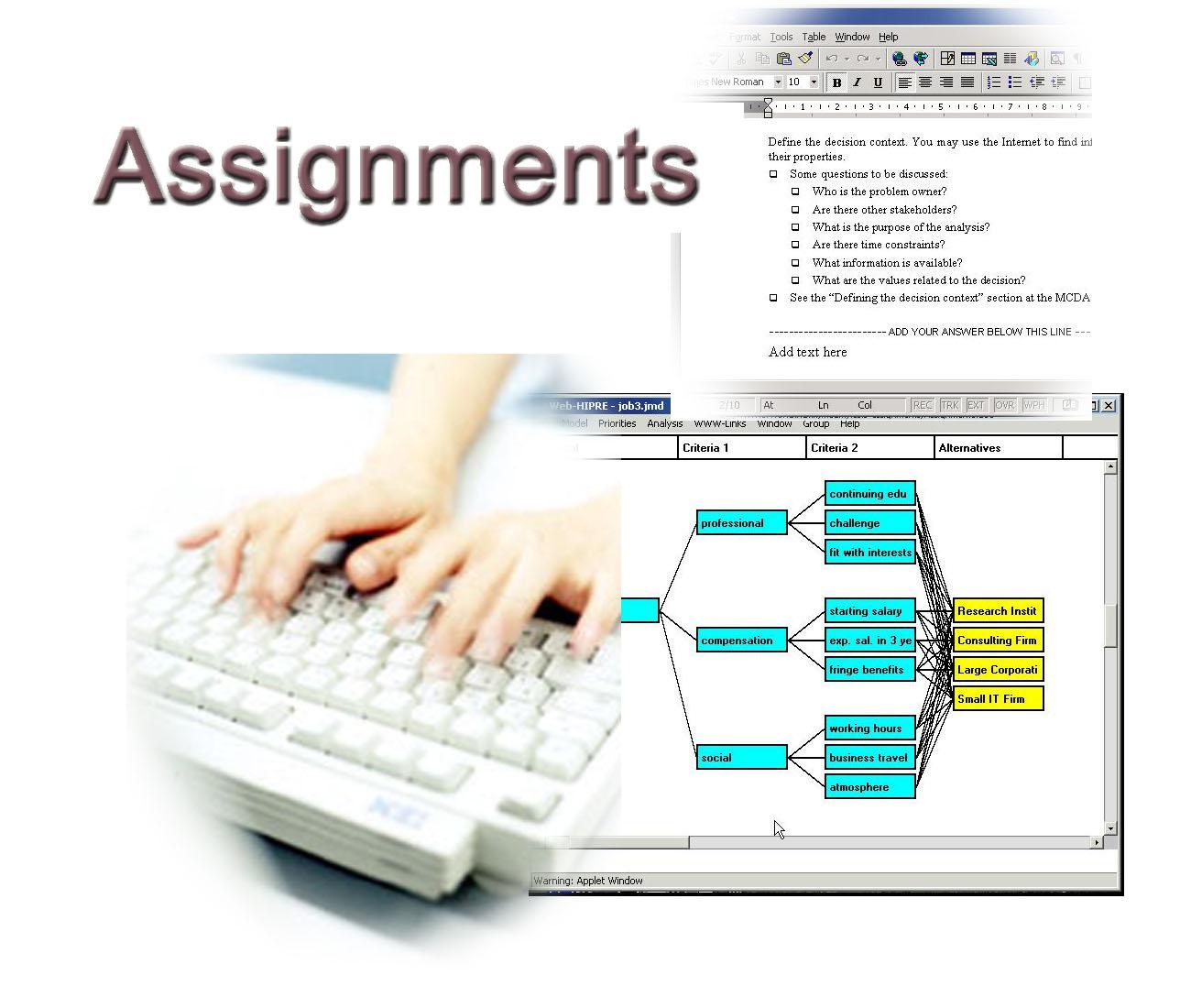 Value assignment